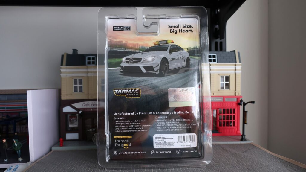 Tarmac Works Mercedes-Benz C 63 AMG Coupe Black Series DTM Safety Car