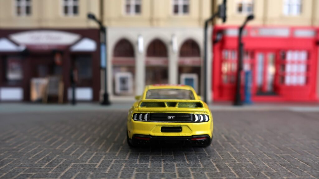 Majorette Parknshop Lay's Ford Mustang GT (2)