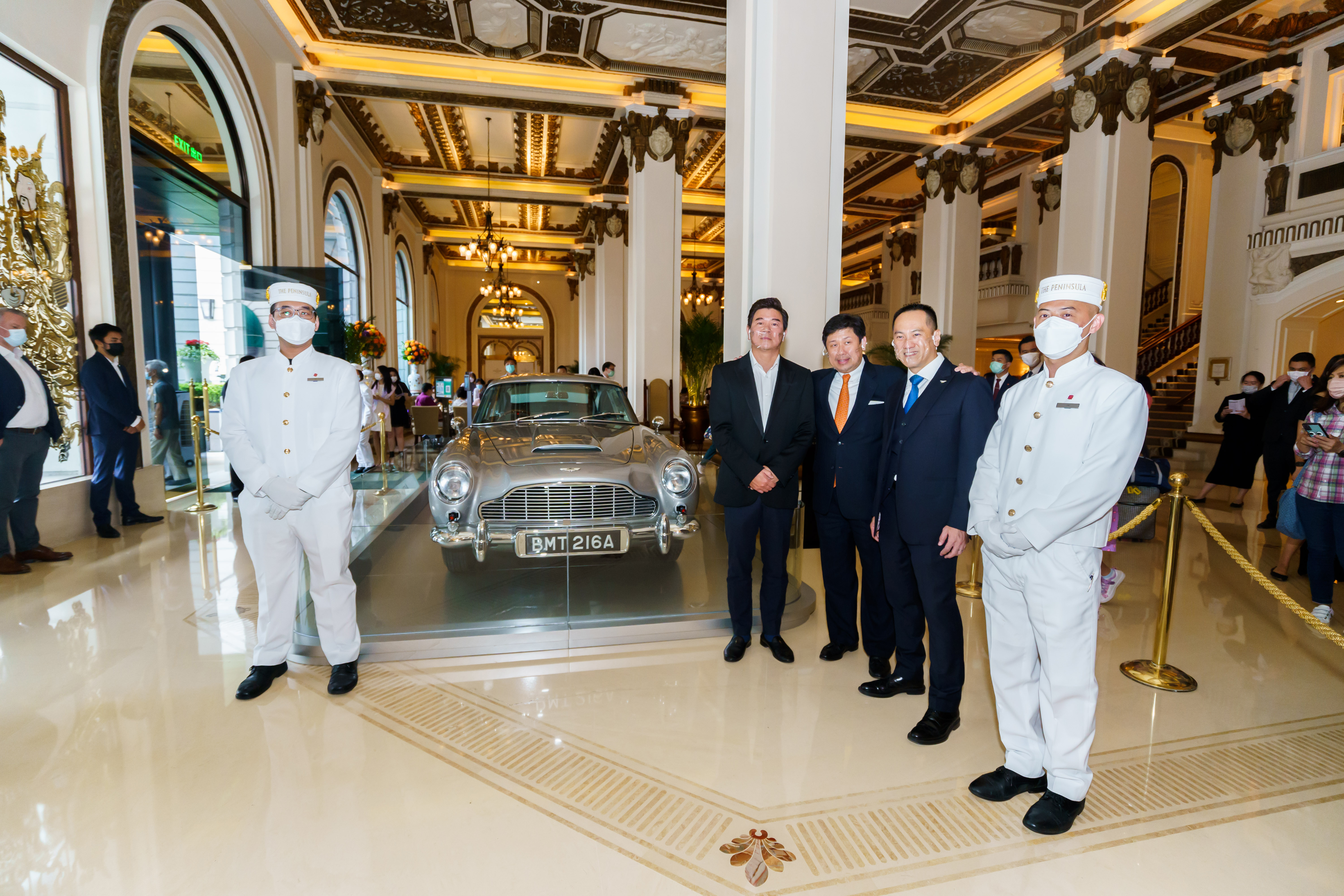"""The Aston Martin DB5 Featured in the Movie """"Goldfinger"""" Will Be on Display at The Peninsula Hong Kong"""